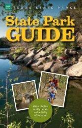 State Park - Texas Parks & Wildlife Department