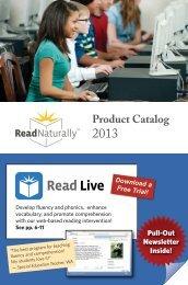 Read Naturally Product Catalog 2013