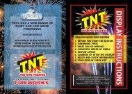 download leaflet - TNT Fireworks UK