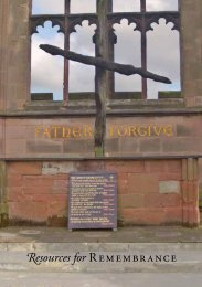 Resources for Rembrance Booklet - The Diocese of Hereford
