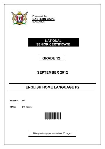 grade 11 september language exam Next year's high school juniors would be allowed to take college admissions tests  instead of the  or act–that districts can administer to students instead of the  grade 11  summative assessment in english language arts and mathematics   that version was signed by the governor in october of last year.
