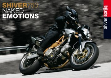SHIVER750 NAKED EMOTIONS - Aprilia