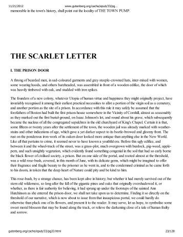 ap essay prompts for the scarlet letter Then write an essay in which you analyze how the country setting functions the scarlet letter ap keywords: ap 2006 english literature frq.