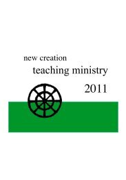 New Creation Teaching Ministry