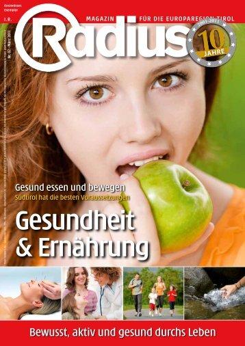 Radius Gesundheit 2011