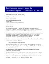 Questions And Answers About The Federal Employees