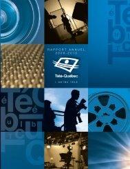 RAPPORT ANNUEL 2009-2010 - Télé-Québec