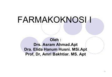 FARMAKOKNOSI I