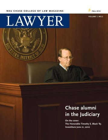 Chase alumni in the Judiciary - Salmon P. Chase College of Law ...