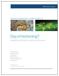 Day of reckoning? - McKinsey & Company