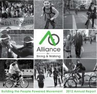 2012 Annual Report - Alliance for Biking & Walking
