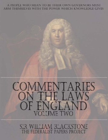 Commentaries-On-The-Laws-Of-England-Volume-Two