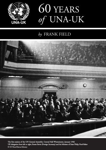 frank field pamphlet.qxd - United Nations Association of the UK