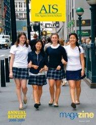 ANNUAL REPORT - The Agnes Irwin School