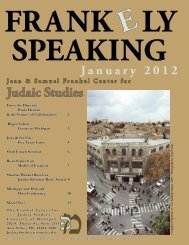 January 2012 Newsletter - College of Literature, Science, and the ...