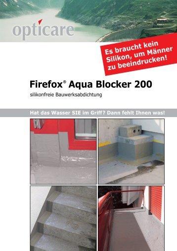 Firefox Aqua Blocker 200 - opticare ag, Firefox, Gelterkinden
