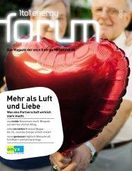 Mehr als Luft und Liebe - Onyx Energie Mittelland