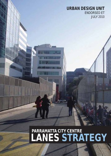 LANES STRATEGY.indd - Parramatta City Council