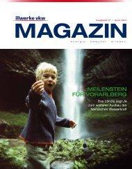Illwerke VKW Magazin - April 2011