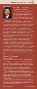 2012 Alliance Program Book - American Fraternal Alliance - Page 5