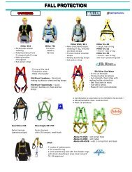 Fall Protection - EYP Business Showcase Pages