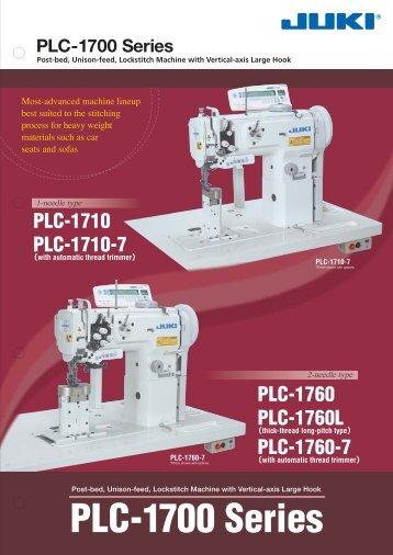 PLC-1700 Series - JUKI