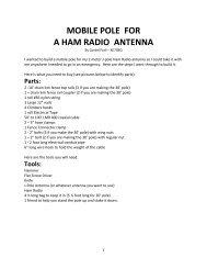 Wire Antennas for Ham Radio - 70 Antenna Ideas