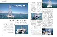Outremer 5X A very hot 60-foot catamaran - Multihulls World