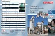 Loctite® Nordbak® Crusher Backing Materials