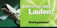 Informationsbroschuere footpower-Dortmund