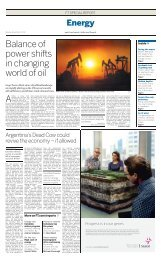 Balance of power shifts in changing world of oil - Financial Times