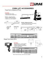 FORK LIFT ACCESSORIES - ShipServ