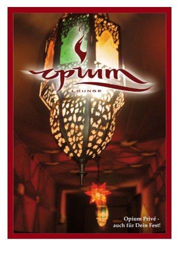 Die Opium Lounge in Aarau