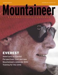 Mar/Apr 2013 - The Mountaineers