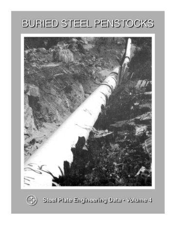 Buried Steel Penstocks - Steel Tank Institute
