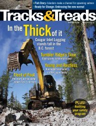 Tracks and Treads - Finning Canada