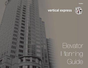 Elevator Planning Guide - Vertical Express