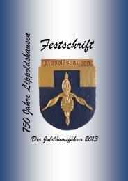 Lippoldshausen: 750 Jahre - Festschrift zum Jubiläum