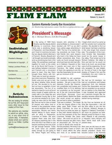 FLIM FLAM - GRPLAW Law Office of Gerald R. Prettyman