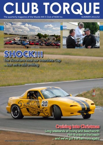 Club Torque - Mazda MX-5 Clubs of Australia
