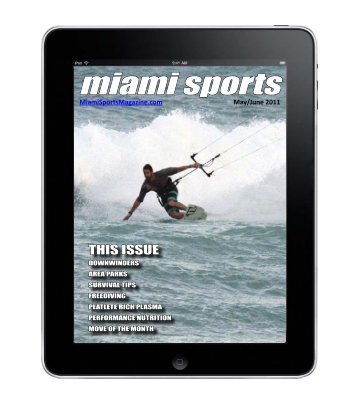 Miami Sports Magazine May/June 2011