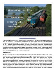Railfanning Hamilton Bayview - Canadian Railway Observations