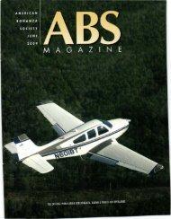 30 ABS AVIATOR points - American Bonanza Society
