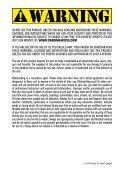 CONTROL SYSTEM USER MANUAL - Cabrinha - Page 3