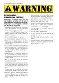 CONTROL SYSTEM USER MANUAL - Cabrinha - Page 4