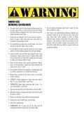 CONTROL SYSTEM USER MANUAL - Cabrinha - Page 5