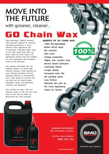 GO Chain Wax - BMG