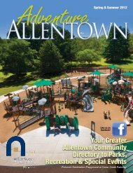 Check us out on facebook. Like us on facebook ... - City of Allentown