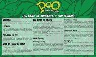 the game of monkeys & poo flinging - Poo: The Card Game