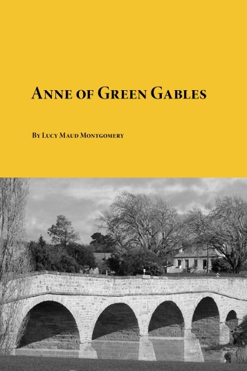 Anne of Green Gables - EnglishZone